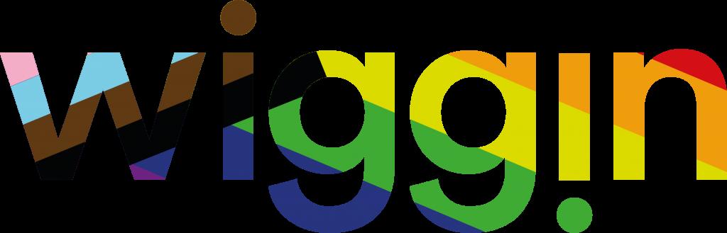 Wiggin Pride Inclusive Flag Logo